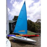 RADIAL SAIL,NEW (5.7,Larger window,WHITE)